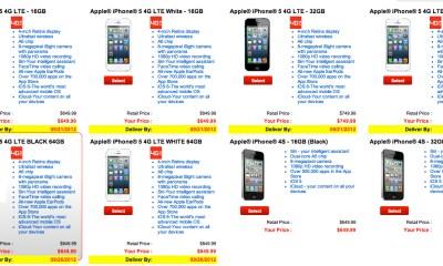 Verizon iPhone 5 pre-orders