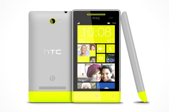 Windows Phone 8S by HTC Yellow
