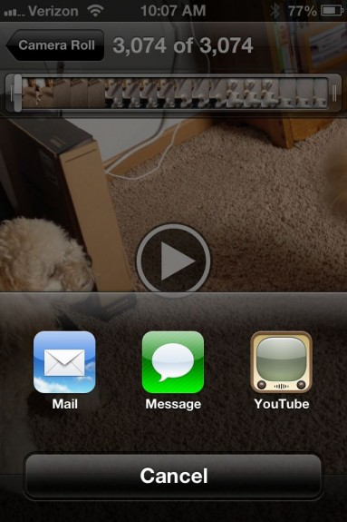 YouTube iPhone App iOS 6 iPhone 5 - 1