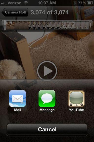 YouTube iPhone App iOS 6 iPhone 5 - 1