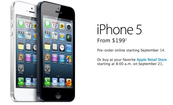 iPhone 5 Preorder
