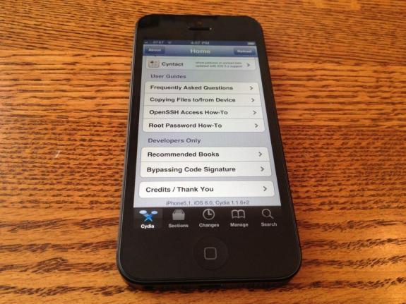 iPhone 5 jailbreak iOS 6