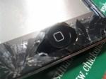 iPhone repair shattered display