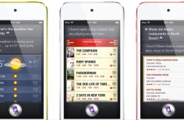 iPod touch with Siri