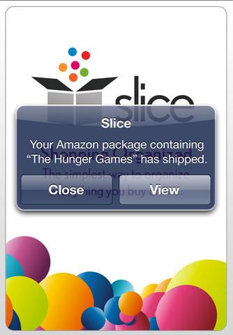 Slice iPhone app