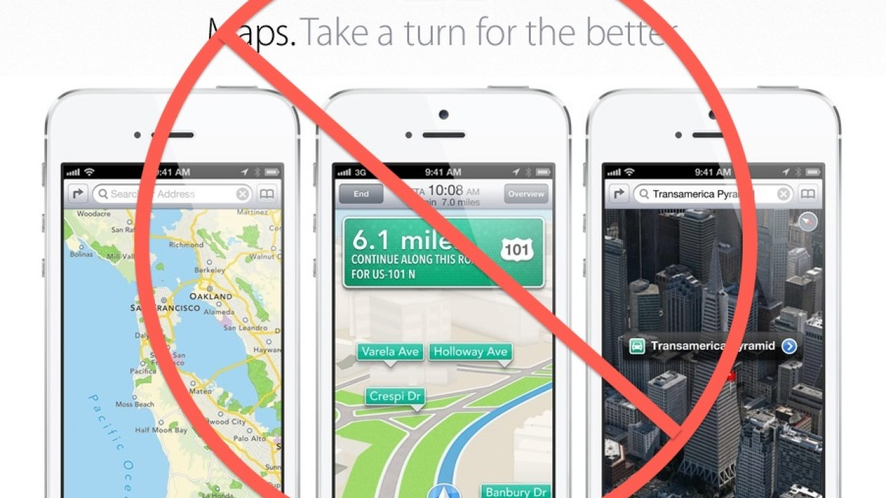 5 Navigation Apps to Replace Apple Maps in iOS 6