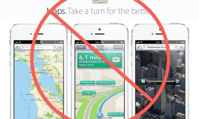 no iphone maps