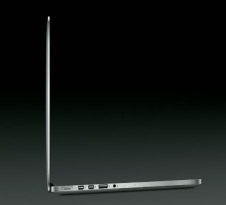13-inch MacBook Pro with Retina Display profile