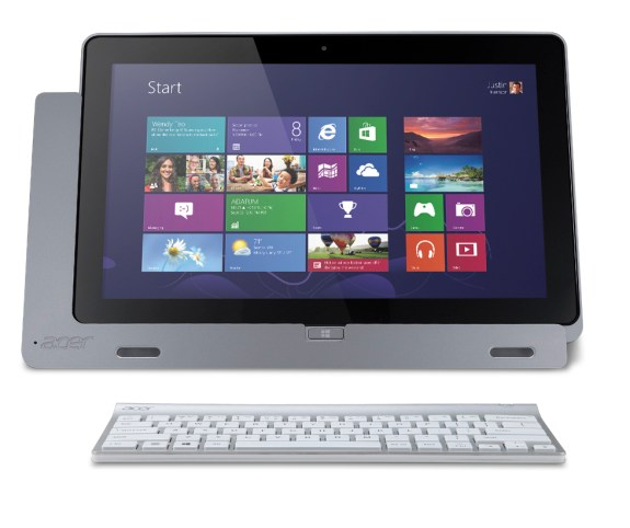 Acer Iconia W700 with keyboard