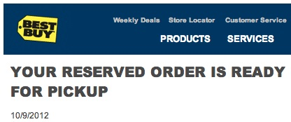 Best Buy iPhone 5 pre-order