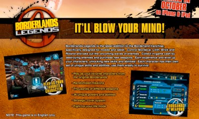 Borderland Legends ad