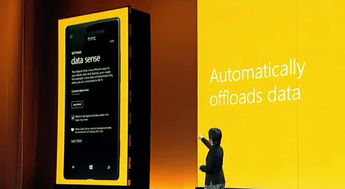 Data sense data usage monitor Windows Phone 8