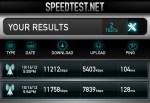 Droid RAZR HD Speed Test