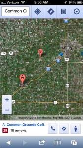 Google Street View iPhone 2