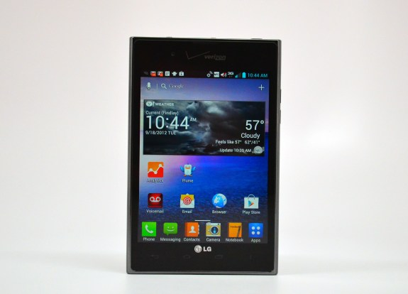 LG Intuition Review - 03