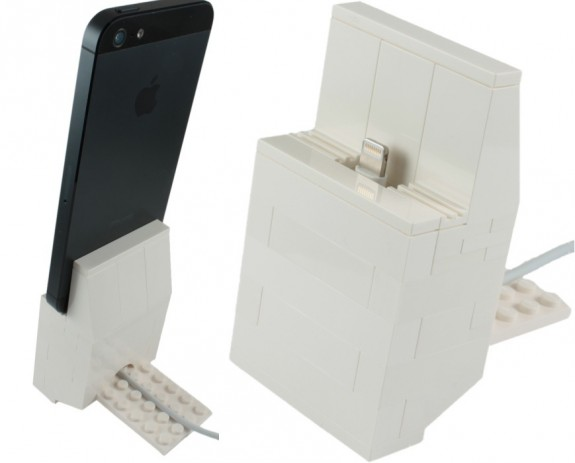 Lego iPhone 5 Dock instructions Kit
