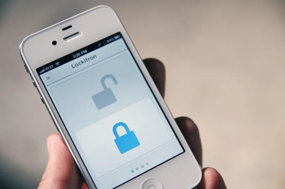 Lockitron iPhone app
