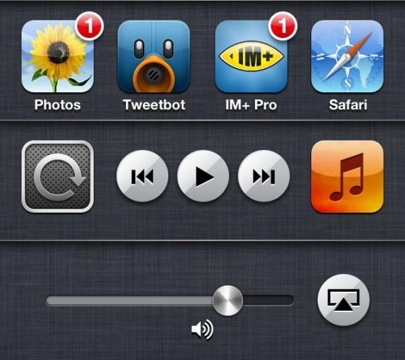 Recent apps iPhone iOS 6