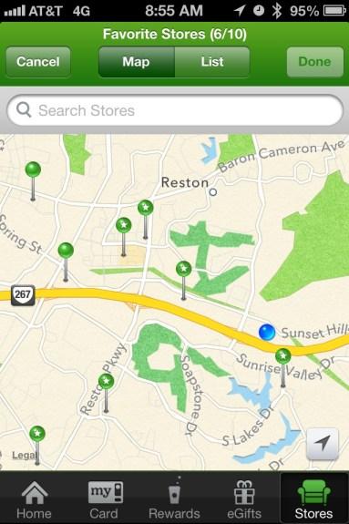 StarbucksPassbookMap