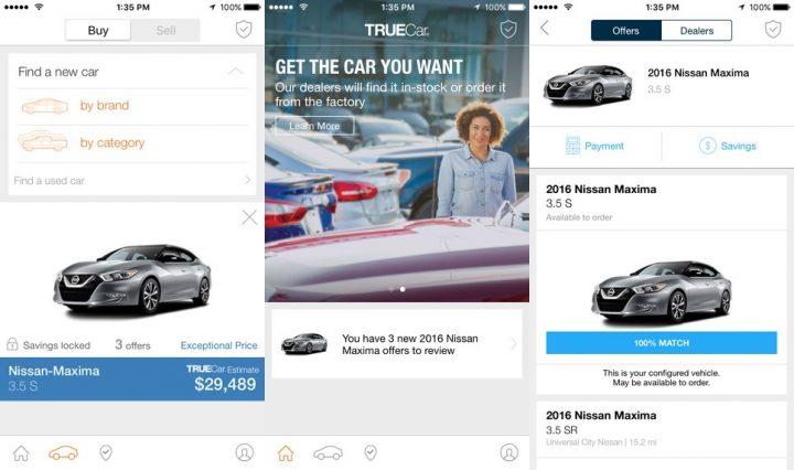 TrueCar Car Buying App