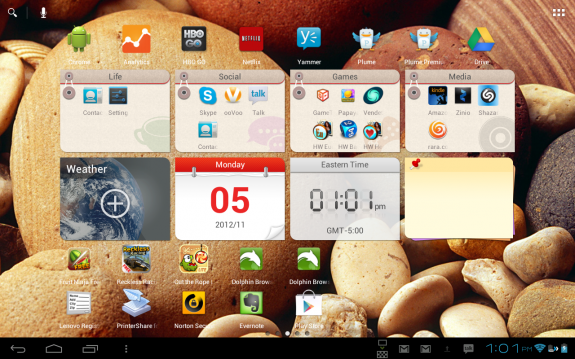 Lenovo Android Skin