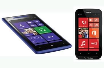 Verizon Windows Phone 8 phones