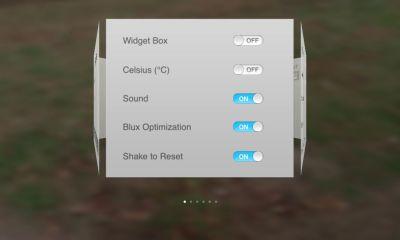 blux settings