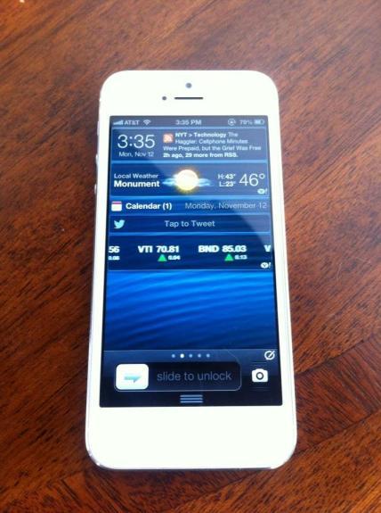 iPhone 5 jailbreak IntelliscreenX
