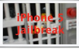 iPhone 5 jailbreak gr1mra1n