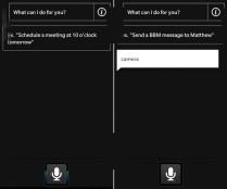 BlackBerry 10 leak Siri