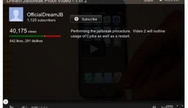 Fake iOS 6 jailbreak video
