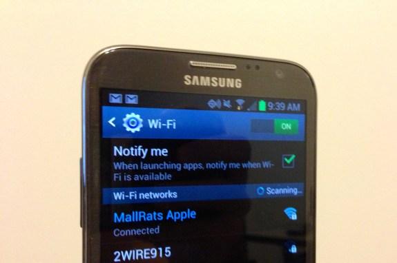 Galaxy Note 2 WiFi Problems
