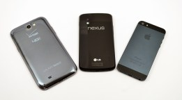 Galaxy Note 2 vs iPhone 5 vs Nexus 4 - 06