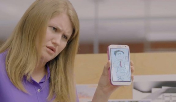 Galaxy Note II ad