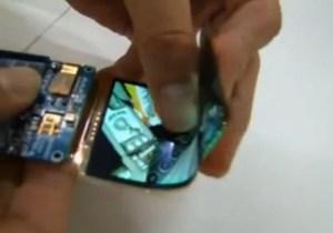 Galaxy S4 flexible display
