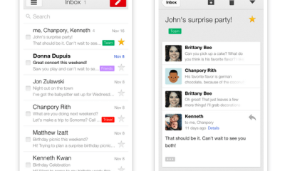 Gmail for iPhone better than Android