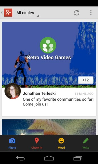 Google+ for Android 3.3