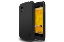 Nexus 4 case matte black SF