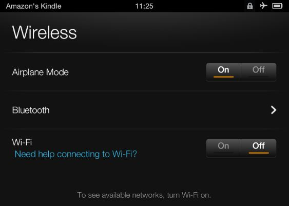 WiFi Kindle Fire HD