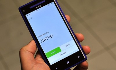 Windows Phone 8 SMS reject