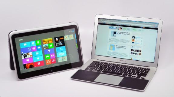 XPS 12 Ultrabook Convertible vs. MacBook Air - 16