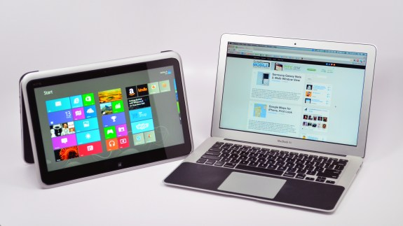 XPS 12 Ultrabook Convertible vs. MacBook Air - 16