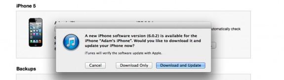 iOS 6.0.2 Update WiFi Fix