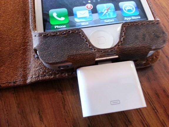 acase collatio iPhone 5 case power port