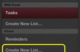 Create New List