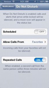 Do Not DIsturb Bug iOS 6 New Year - 3