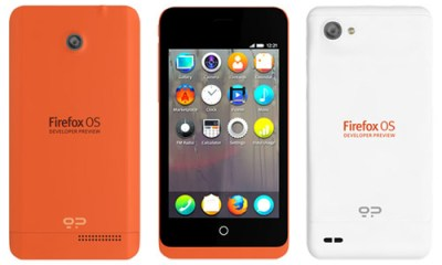 Firefox OS Developer Preview phones