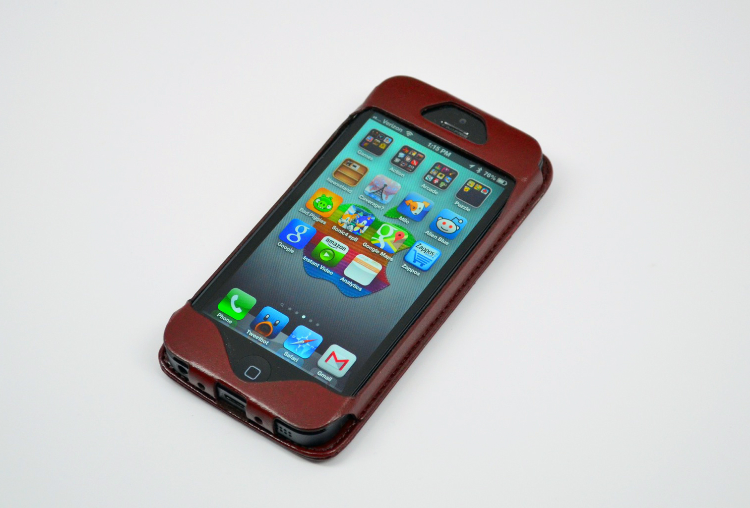 Mapi Tion Iphone 5 Leather Wallet Case Review 1