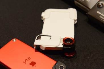 Olloclip iPHone 5 case and iPod Touch
