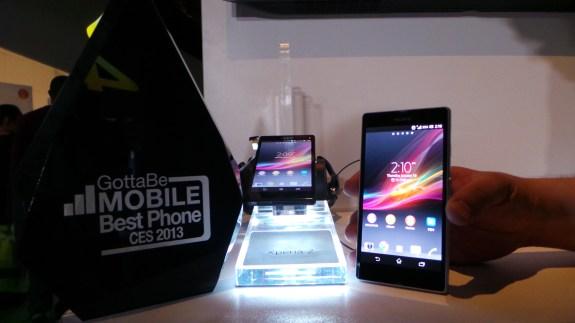 Sony Xperia Z award 2